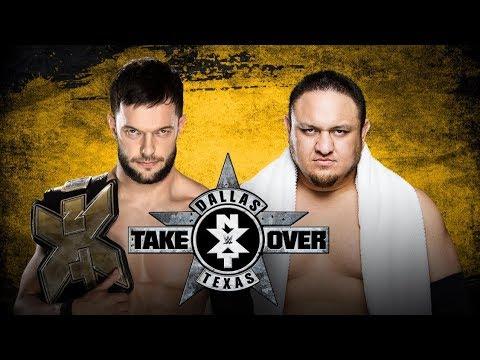 Samoa joe vs Finn Balor WWe RAW 6 November 2017 on WWe RAW CLUB