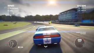 GRID 2 - DODGE CHALLENGER SRTS 392 ONLINE GAMEPLAY [HD] PS3,XBOX,PC