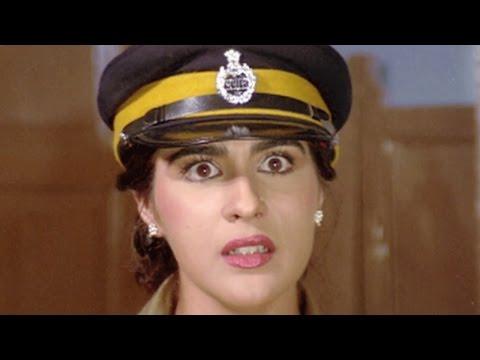 Mithun Chakraborty, Amrita Singh, Ilaaka - Comedy Scene 11/20