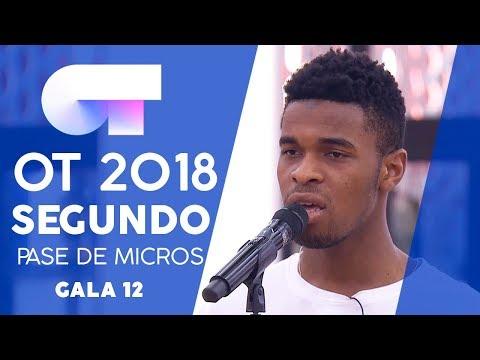 SOLO TÚ - FAMOUS   SEGUNDO PASE DE MICROS GALA 12   OT 2018