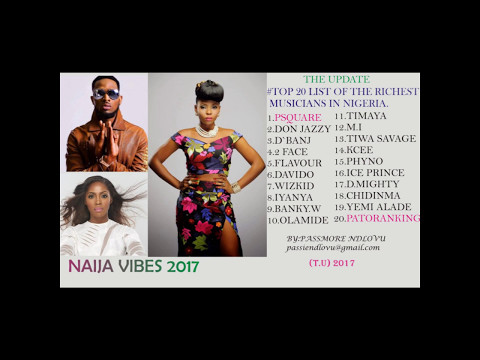 The Update with Passmore #9 -Top 20 Richest Musicians In Nigeria 2017