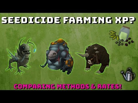 Seedicide & Farming Xp Rates? [Runescape 3] Comparing different methods #1!