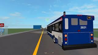 (Roblox Captures) Northwell Region Transit Commission ~ Orion VII OG Diesel ~ Rt. 762 Ridgecrest Exp