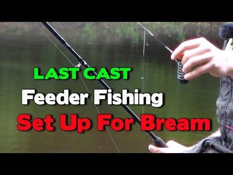 Feeder Fishing For Bream Set Up