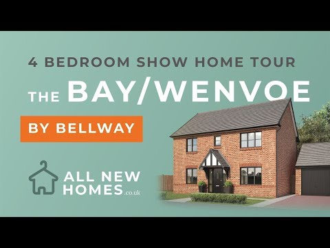 Bellway The Bay (AKA Bellway Wenvoe) 4 Bedroom Show Home Tour (4K) All New Homes