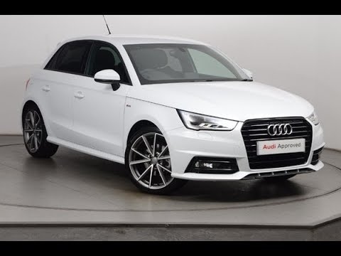 kt66swj audi a1 sportback tdi s line black edition white 2017 nottingham audi youtube. Black Bedroom Furniture Sets. Home Design Ideas