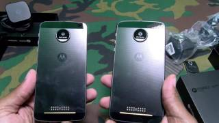 "MOTO Z DROID / MOTO Z FORCE DROID and MOTO MODS ""Unboxing and First Impressions"""