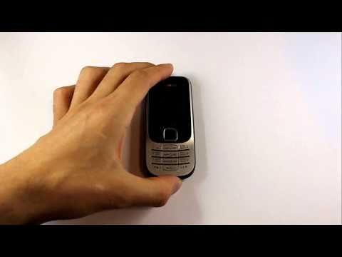 Nokia 2330. Погружение аппарата в воду