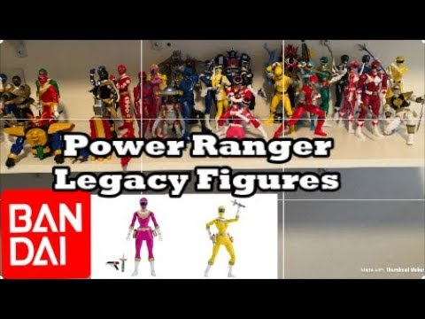 Power Rangers Bandai Legacy Collection! (Pink and Yellow Zeo Ranger Preorder link)