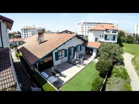 Luxury house for sale Biarritz, near ocean, golf - Announcement real estate