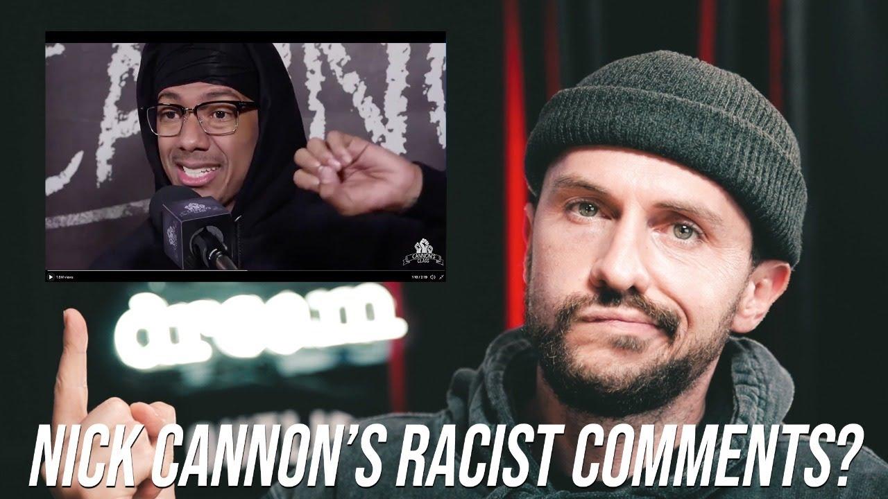 "Addressing Nick Cannon's ""Less Than"" regarding White People"