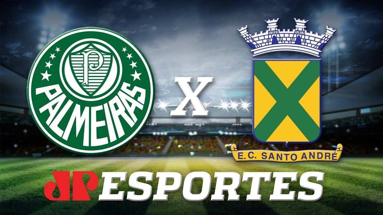 Palmeiras x Santo André: assista à transmissão da Jovem Pan ao vivo