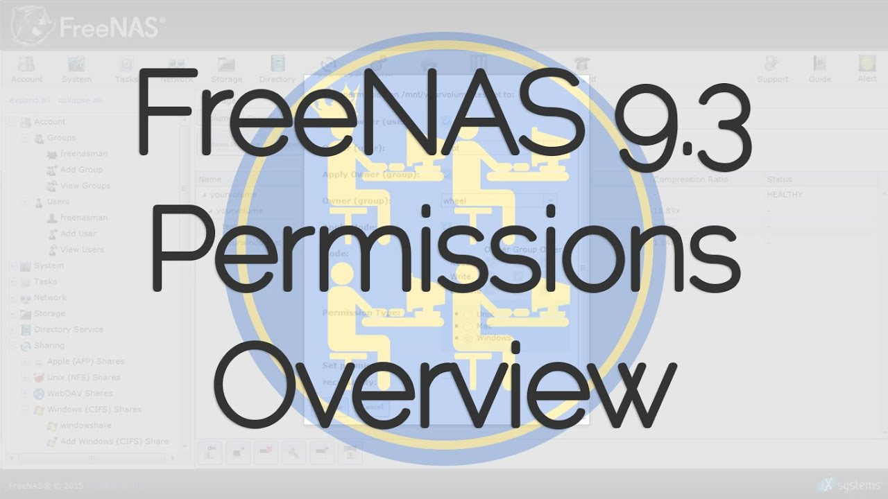 FreeNAS® 9 3 Permissions Overview