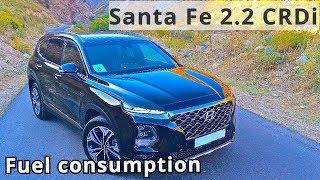 2018 Santa Fe, 2 2 CRDi, fuel consumption I