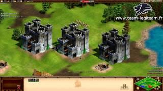 FR - Age of empires 2 HD ! Un 3VS3 Expéditif ! - Www.team-legiteam.fr