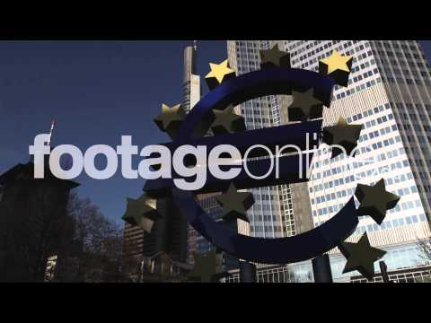 Euro Sign 05 footage 000264 HD