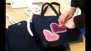 5 Dakikada Kumaş Çanta Nasıl Yapılır? How to make a denim bag in five minutes?