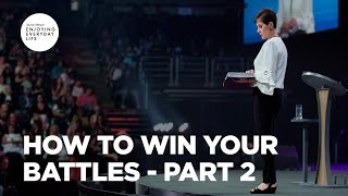 How to Win Y๐ur Battles - Part 2 | Joyce Meyer | Enjoying Everyday Life