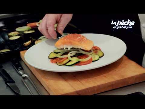 saumon-de-france-cuit-à-l'unilatéral,-tian-de-légumes