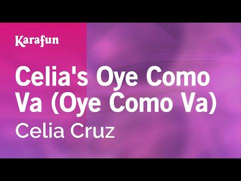 Karaoke Celia's Oye Como Va (Oye Como Va) - Celia Cruz *