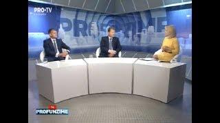 Emisiunea InPROfunzime cu Lorena Bogza. Invitat: Vladimir Turcanu si Valeriu Munteanu