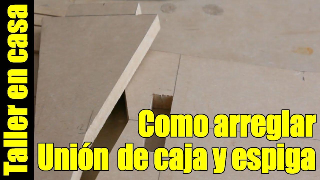Carpinteria como arreglar ensambles de madera tipo caja - Como arreglar puertas de madera rayadas ...