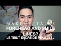 Forehead and Smile Lines Foundation | YSL Ink Fusion Foundation | MAKEUP TALKS