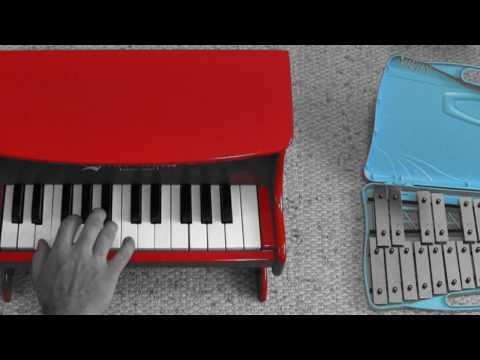 Yann Tiersen - Prière n°3 - toy piano + glockenspiel (Vladimir Yatsina Cover) (free sheet music)