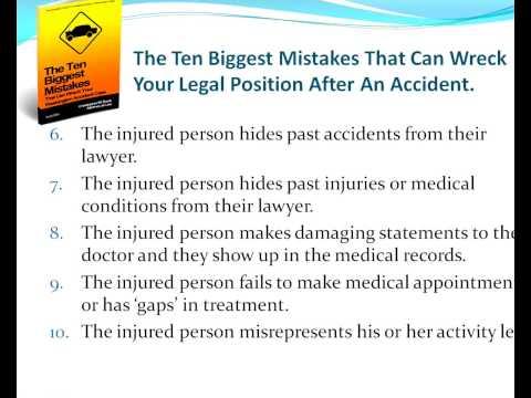 Personal Injury Lawyers - Personal Injury Lawyers Seminar