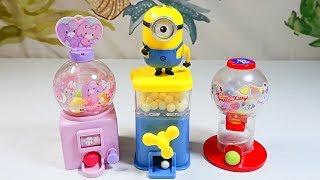 Hello Kitty Bonbonribbon Minion Gumball Candy Toy Vending Machine