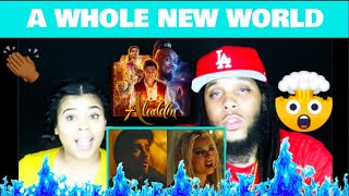 """ZAYN, Zhavia Ward - A Whole New World (End Title) (From """"Aladdin""""/Official Video) REACTION!"""