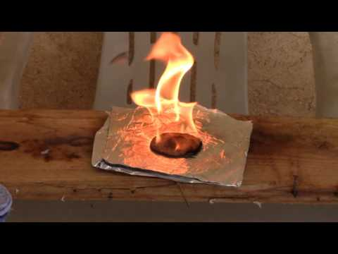 How I Make My Cotton Round Fire Starters and Test
