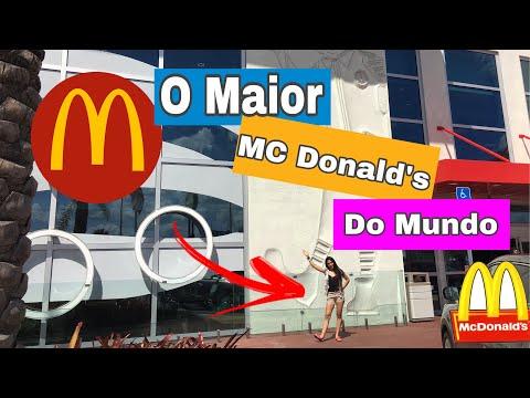O Maior MCdonald's do MUNDO em Orlando VEDA #3- Sabrina Santiago