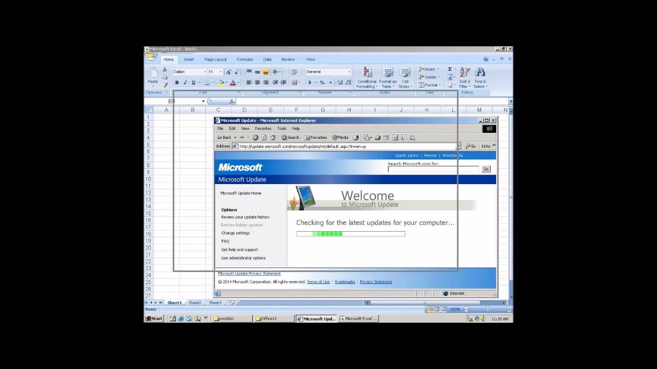 office 2007 install on windows 2000 microsoft update testing other programs