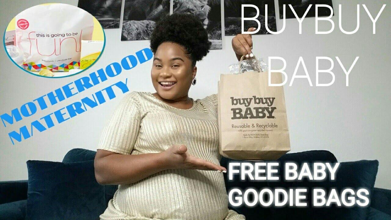 buybuy BABY Free Registry Gift Goodie Bag 2019 Motherhood ...
