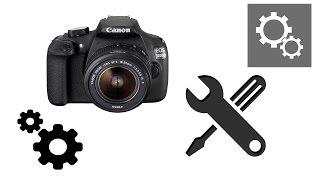 Canon EOS 1200 D. Настройка інтерфейсу: моє меню, перепризначення для кнопок і інше.