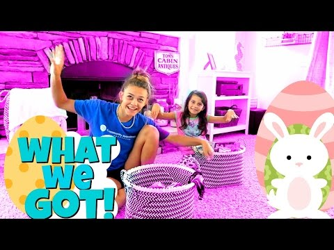 🐰 WHAT WE GOT FOR EASTER 🐰 2017 EASTER BASKET HAUL