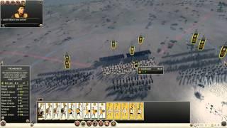Rome 2 Total War Gameplay Ita PC Parte 4 - Battaglia in campo aperto -