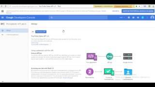 Получить YouTube API key V3