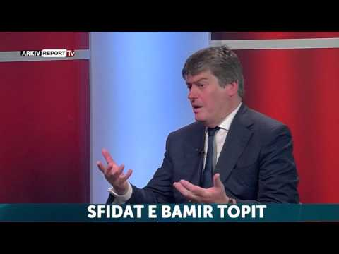 Report TV - 45 Minuta, ne studio Bamir Topi