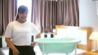Hướng dẫn tắm an toàn cho trẻ sơ sinh với chậu tắm Rotho Babydesign