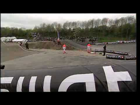 BMX Supercross Camera Crash Copenhagen