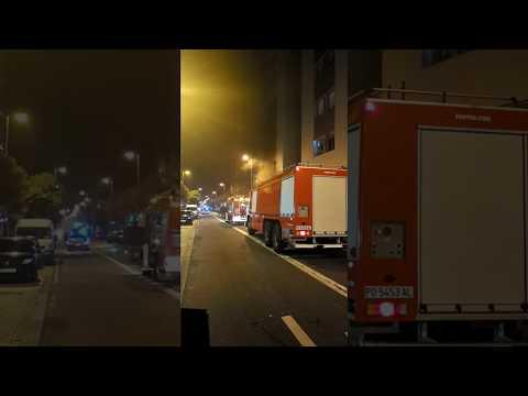 Incendio en un garaje de Teis