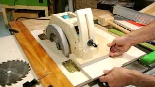 Homemade Table Saw, Part 1