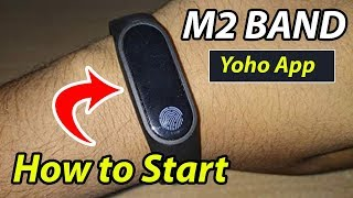 How M2 Smart Band ⌚ Work - Yoho Sports App