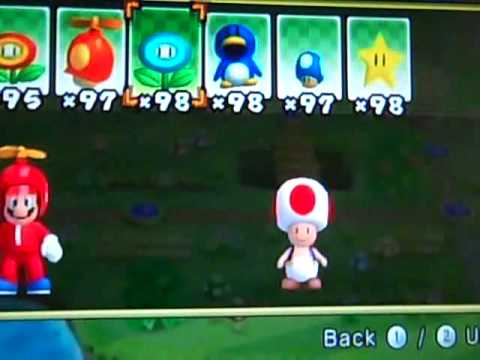 Play as TOAD & TOADETTE in New Super Mario Bros  wii