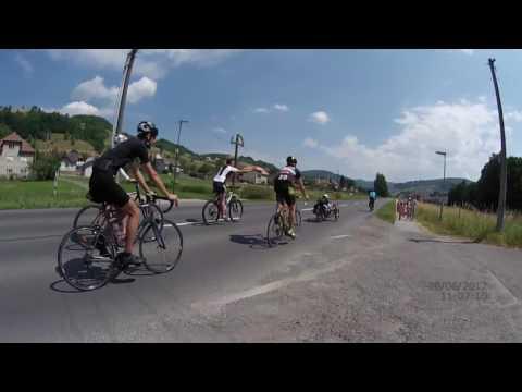 Peter Kacer na bicykli 2017 Detva   Hrinova   Cierny Balog   Vydrovo