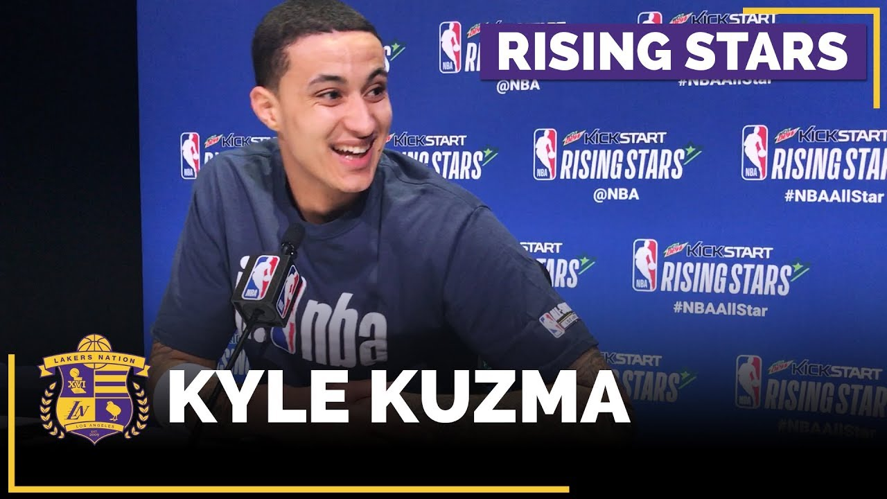 nba-all-stars-2018-kyle-kuzma-says-he-want-s-to-dunk-on-joel-embiid-full-interview