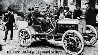 THE FIRST EVER 4WD CAR FACTS
