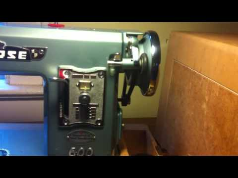 MORSE SEWING MACHINE MODEL 600